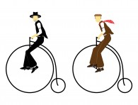 Blues-Preachers-Penny-Farthing